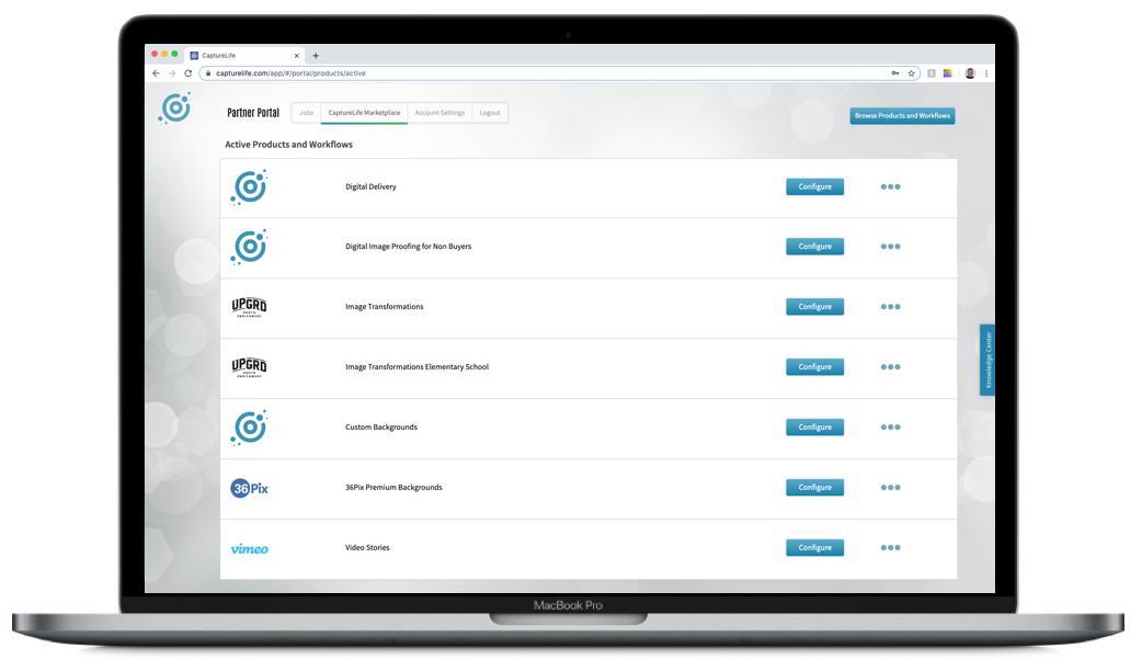Capturelife Marketplace Portal 2