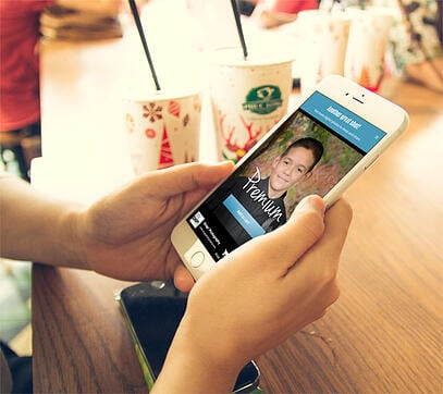 CapturLife Mobile App Photo Delivery