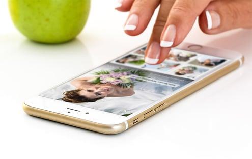 wedding photo iphone