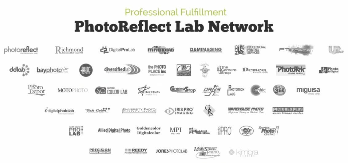 PhotoReflect Lab Network