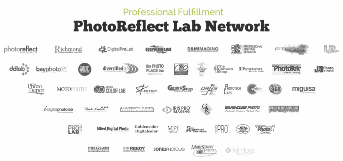 PhotoReflect Lab Network